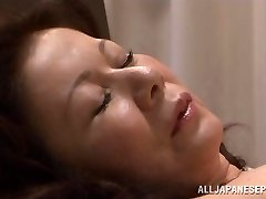 Chizuru Iwasaki hot mature Asian damsel is fucked hard