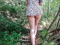 OUTDOOR REAL PUBLIC Fucky-fucky GIRL Smashed BY A STRANGER WHEN UPSKIRT