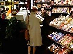 A Woman Visits A Sex Shop To Observe Porn