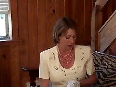 FULLBACK PANTIES - PANTY FUCK - CHURCH Gal IN FLORAL DRESS FUCKED