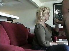 Older Neighbor Gives  BJ on covert cam