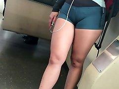 Cameltoe shorts