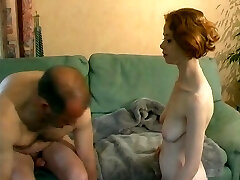 Young French ginger-haired learns how to fuck