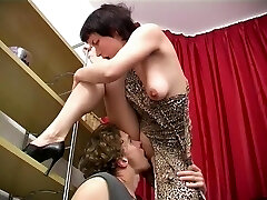 Mature Slave Is Obliged To Lick His Masters