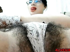 KissRose with hairy big bush pussy n hairy armpits prepped 4 u