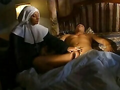 Super-steamy nun fucks a non believer