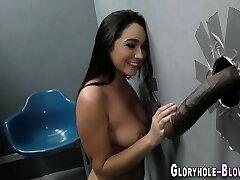 busty mergina gobbles bbc