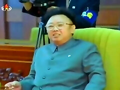 Kim Jong Il welcomes South Korean President Kim Dae Jung