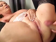 Finest homemade Mature, Stockings sex video