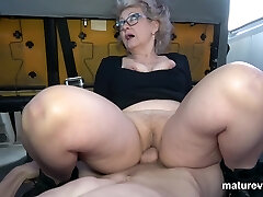 Veronique Nasty Granny Cant Wait For You