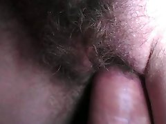 Close up sperm on pussy