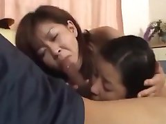 Japanese Mom and not Her son and not daughter(Uncensored)