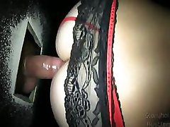 Blonde Slut Lacey at the Gloryhole
