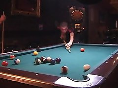 Fucking on Pool Table