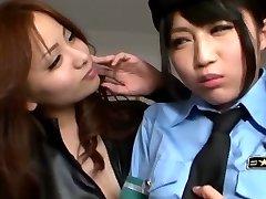 Japanese Lesbian Seduced Officer