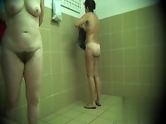 Hidden cameras in public pool showers 738
