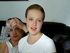 three russian boys deflower crying girl