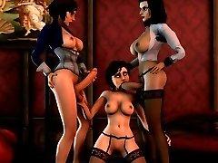 Bioshock 3 DIMENSIONAL hook-up compilation