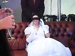 New Bride Pummeled By Multiple Beefsticks