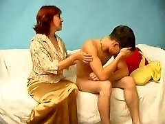 Russian Mom Catches a Fellow Stroking WF