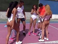 Teen tennis porn bang-out