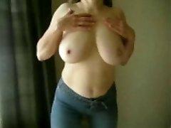 MarieRocks, 50+ Milf - Big Baps Topless in Jeans