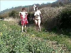public showing in a field with a mate