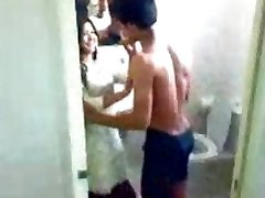 Indian college girl swapna pummeled by her young chachu scandal - low Quality