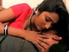 Indian Super-steamy Teacher seducing Student for romp