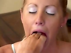 Lesbian eat feet and toes