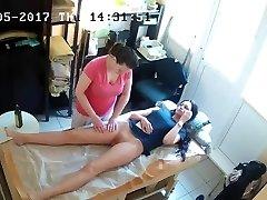 Russian Hidden Spy Cam: Anti-Cellulite Rubdown