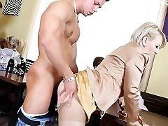 Horny daughter   intense anal