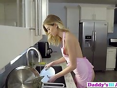 Seductive Haley Reed Tries Ass Fucking Sex With Stepdad In Kitchen!