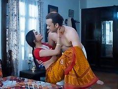 Wife homemade sex highly hot red saree full romance fuck mastram web series