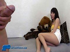 CFNM Babysitter Dick-Demonstrating Upskirt Humiliation