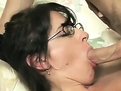 Small tits housewife enjoys good fuck