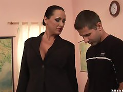 Lisa Sparkle Mandy Bright teach fucks all student
