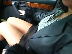 Big Titted BBW Fingered In Car Then Fucked