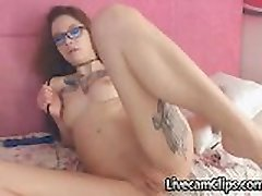 Emo Asiatice Tatuate adolescenti Pe Webcam Iubește Anal