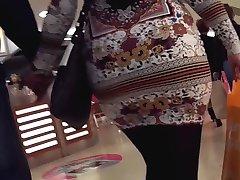 big ass pantyhose milf in miniskirt