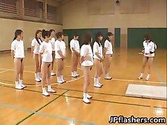 Super vroče Japonski dekleta utripa part1