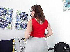 Busty Teacher Sara Jay want you to Earn Xtra Credit!