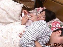 Miki Sato nipponjin zrelá žena
