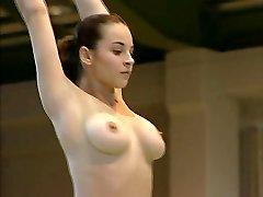 Alasti Võimleja Corina Ungureanu TÄIS VIDEO