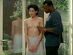Brünett valge naine musta armastaja - Erootiline Interracial
