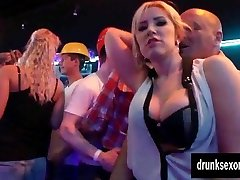 Bi pornstars gets coochies ate in public