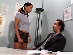 Teacher sodomising student's ass-hole