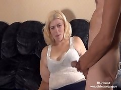 skank plays with guys arse