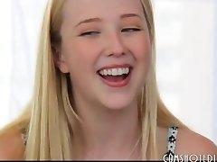 The Cutest Blonde Teen Slut Interview Fuck