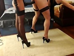 Mistress Antonella is screwing sissy with enormous strapon